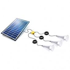 3 T-Lite 180 Solar Lightkit White Sundaya