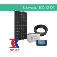 100Wp/12V DC off-grid system