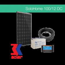 100Wp/12V DC off-grid system