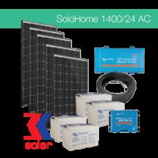 1400Wp/24V AC off-grid solar system