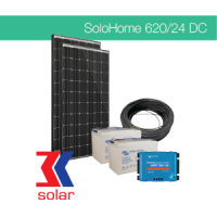 620Wp/24V DC off-grid solar system