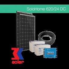 620Wp/24V DC off-grid solar system