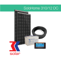 310Wp / 12V DC off-grid solar system