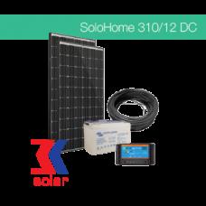 310Wp / 12V DC off-grid solar system