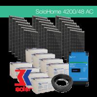 4200W/48V AC off-grid solar system