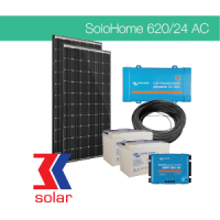 620Wp/24V AC off-grid solar system