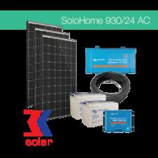 930Wp/24V AC off-grid solar system