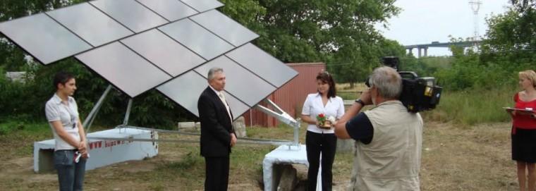 демонстрационна фотоволтаична система от 3к солар