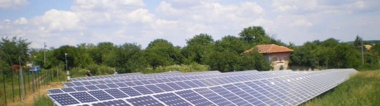 Фотоволтаичен парк в с. Иксър изграден от 3к солар 4