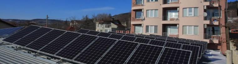 Покривна фотоволтаична инсталация в гр. Варна от 3к солар 5