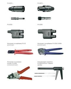Конектори за соларни панели MC3 Multi-Contact свързващи системи за PV централи